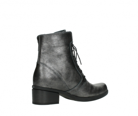 wolky ankle boots 01377 forth 81280 metal grey leather_11