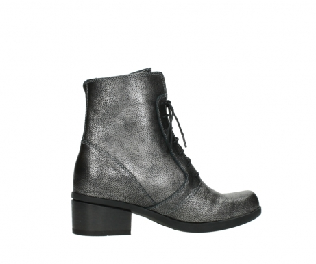 wolky ankle boots 01377 forth 81280 metal grey leather_12