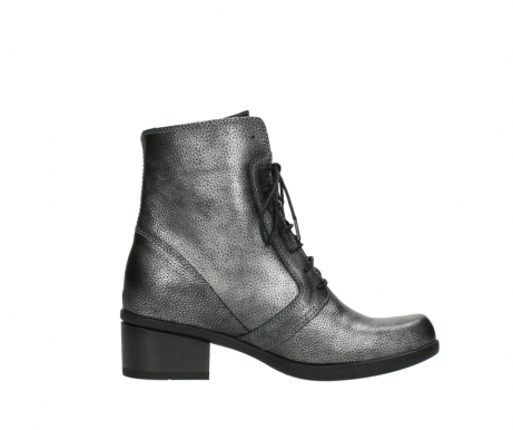 wolky ankle boots 01377 forth 81280 metal grey leather_13