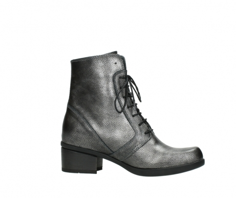 wolky ankle boots 01377 forth 81280 metal grey leather_14