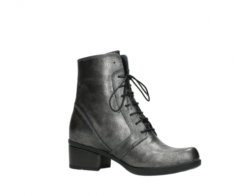 wolky ankle boots 01377 forth 81280 metal grey leather_15