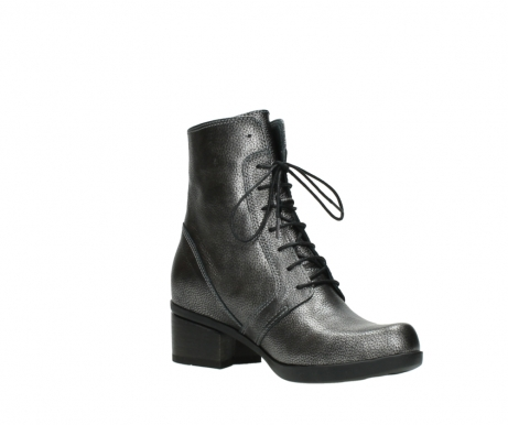 wolky ankle boots 01377 forth 81280 metal grey leather_16