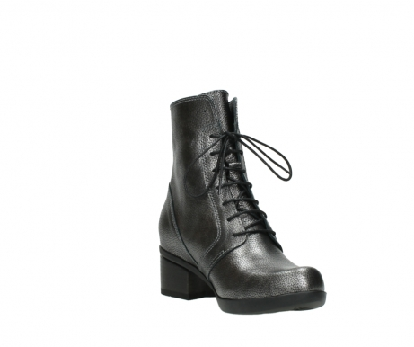 wolky ankle boots 01377 forth 81280 metal grey leather_17