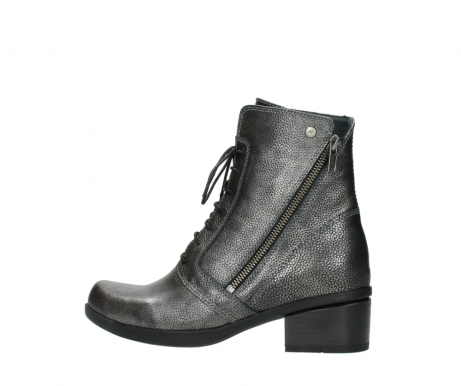 wolky ankle boots 01377 forth 81280 metal grey leather_2
