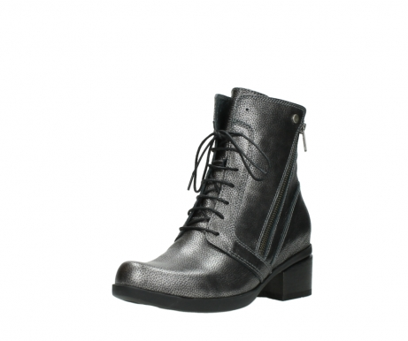 wolky ankle boots 01377 forth 81280 metal grey leather_22