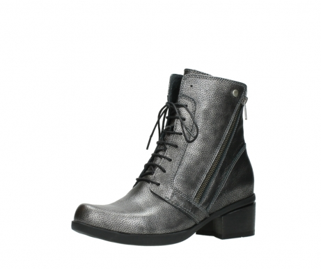 wolky ankle boots 01377 forth 81280 metal grey leather_23