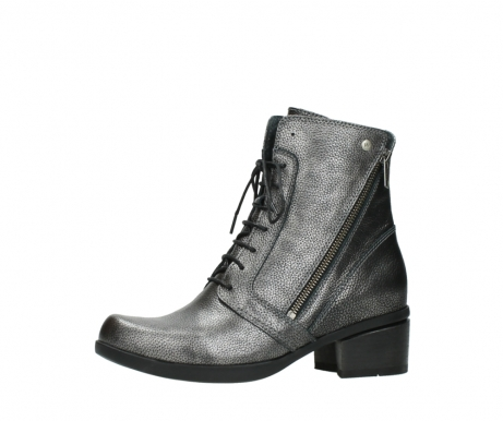 wolky ankle boots 01377 forth 81280 metal grey leather_24