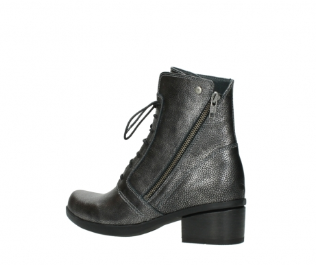 wolky ankle boots 01377 forth 81280 metal grey leather_3