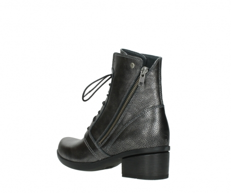 wolky ankle boots 01377 forth 81280 metal grey leather_4