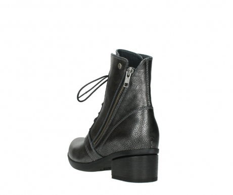 wolky ankle boots 01377 forth 81280 metal grey leather_5