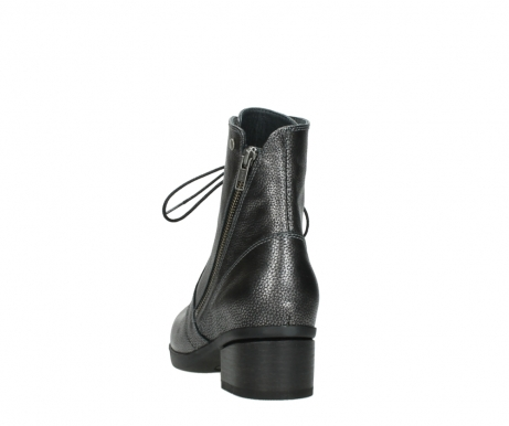wolky ankle boots 01377 forth 81280 metal grey leather_6