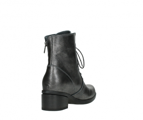 wolky ankle boots 01377 forth 81280 metal grey leather_9