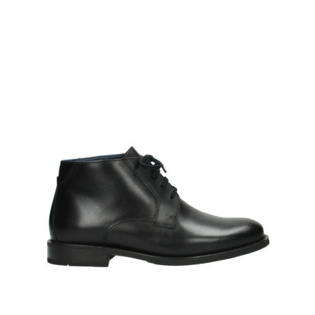 wolky lace up shoes 02181 montevideo 31000 black leather