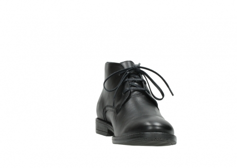 wolky lace up shoes 02181 montevideo 31000 black leather_18
