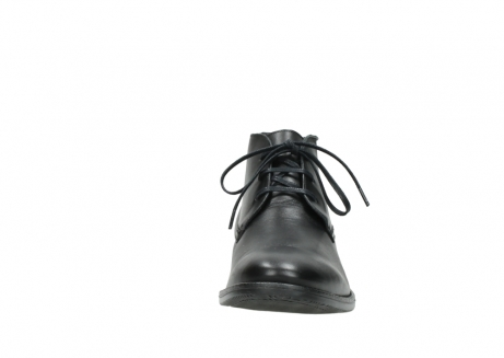wolky lace up shoes 02181 montevideo 31000 black leather_19