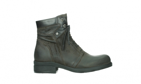 wolky lace up boots 02625 center 45305 dark brown suede_1