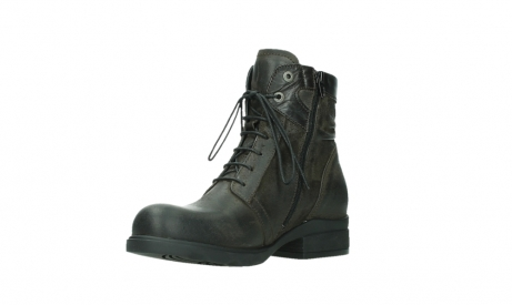 wolky lace up boots 02625 center 45305 dark brown suede_10
