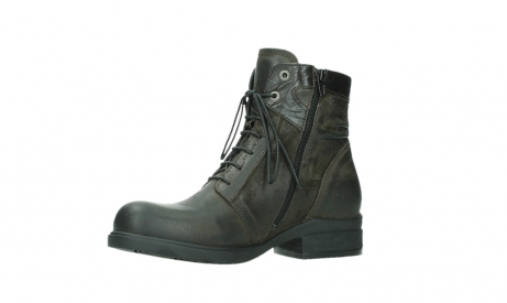 wolky lace up boots 02625 center 45305 dark brown suede_11