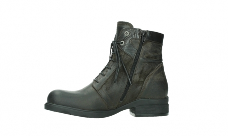 wolky lace up boots 02625 center 45305 dark brown suede_12