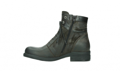 wolky lace up boots 02625 center 45305 dark brown suede_13