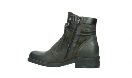 wolky lace up boots 02625 center 45305 dark brown suede_14