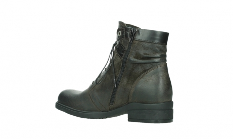 wolky lace up boots 02625 center 45305 dark brown suede_15