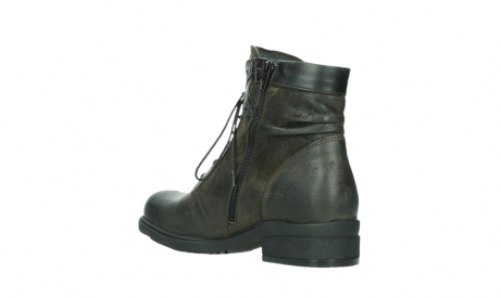 wolky lace up boots 02625 center 45305 dark brown suede_16