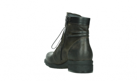 wolky lace up boots 02625 center 45305 dark brown suede_17