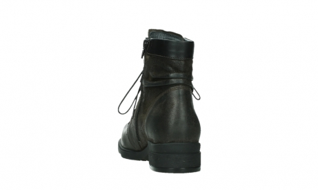 wolky lace up boots 02625 center 45305 dark brown suede_18