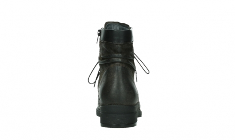 wolky lace up boots 02625 center 45305 dark brown suede_19