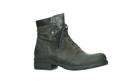 wolky lace up boots 02625 center 45305 dark brown suede_2