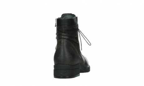wolky lace up boots 02625 center 45305 dark brown suede_20