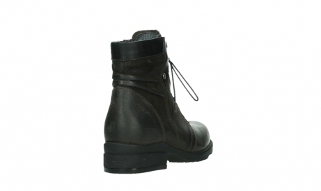 wolky lace up boots 02625 center 45305 dark brown suede_21
