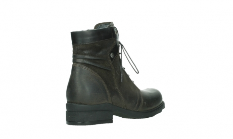 wolky lace up boots 02625 center 45305 dark brown suede_22