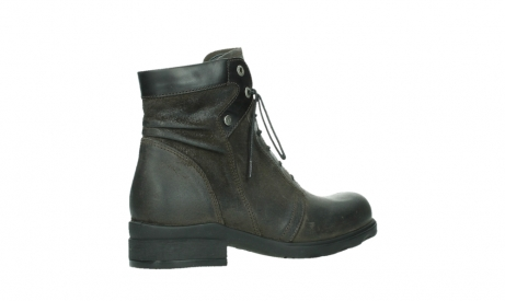 wolky lace up boots 02625 center 45305 dark brown suede_23