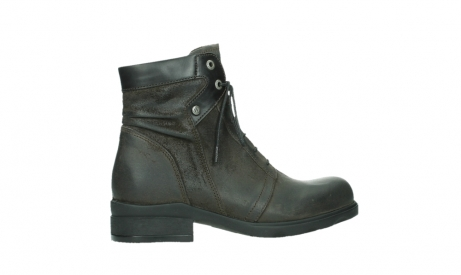 wolky lace up boots 02625 center 45305 dark brown suede_24