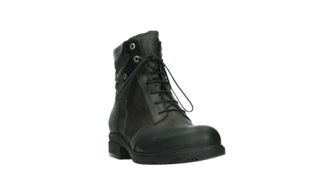 wolky lace up boots 02625 center 45305 dark brown suede_5