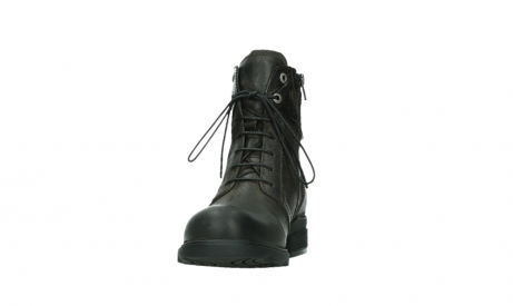 wolky lace up boots 02625 center 45305 dark brown suede_8