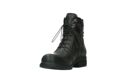 wolky lace up boots 02625 center 45305 dark brown suede_9