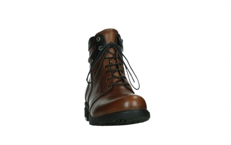 wolky lace up boots 02628 center wp 20430 cognac leather_6