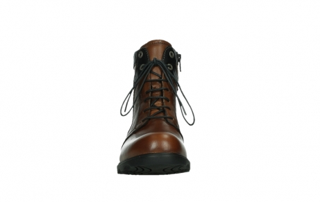 wolky lace up boots 02628 center wp 20430 cognac leather_7