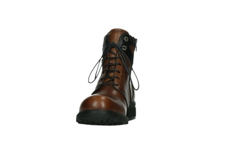 wolky lace up boots 02628 center wp 20430 cognac leather_8