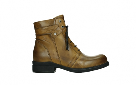 wolky lace up boots 02629 center xw 30925 dark ocher leather_1