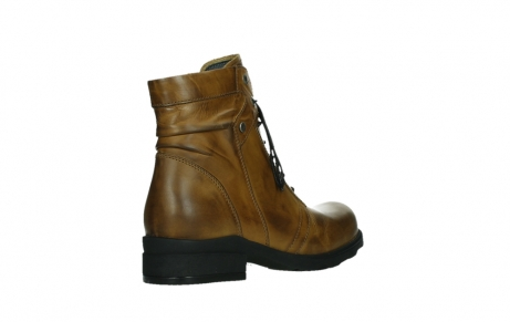 wolky lace up boots 02629 center xw 30925 dark ocher leather_22