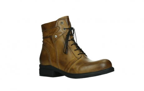 wolky lace up boots 02629 center xw 30925 dark ocher leather_3