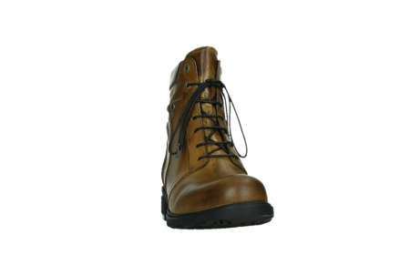 wolky lace up boots 02629 center xw 30925 dark ocher leather_6