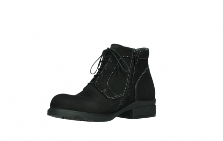 wolky lace up boots 02630 seagram xw 13000 black nubuckleather_10