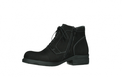 wolky lace up boots 02630 seagram xw 13000 black nubuckleather_11