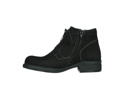 wolky lace up boots 02630 seagram xw 13000 black nubuckleather_12