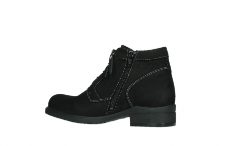 wolky lace up boots 02630 seagram xw 13000 black nubuckleather_14